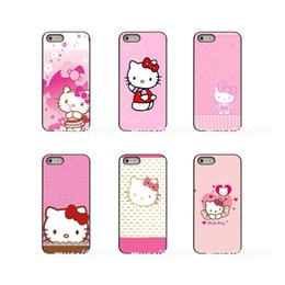 c51ba4d95 Japan Cartoon Animals Pink hello Kitty Hard Phone Case Cover For Apple iPhone  X XR XS MAX 4 4S 5 5S 5C SE 6 6S 7 8 Plus ipod touch 4 5 6