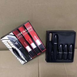 Discount mascara set boxes - M Makeup Set Look in A Box Endless Sunshine Eyeliner Mascara Matte Lipstick 5 in1 Make Up Cosmetics Kit