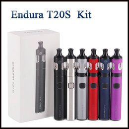 Gold prism online shopping - 100 Authentic Innokin Endura T20S Starter Kit mAh Battery Endura T20 Mod For Original ml Prism T20S Tank