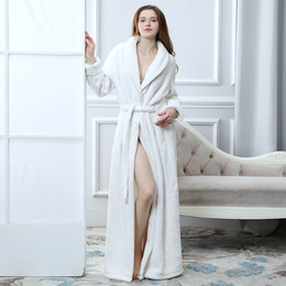 2aa07920be Ladies  new cardigan bathrobe for autumn and winter beibei velvet nightgown  casual fashion flannel pajamas coral velvet tide nightdress