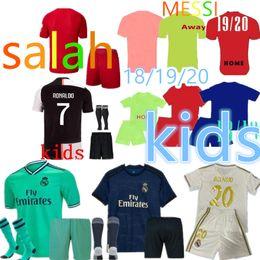 c102a52920ca Top 2019 2020 Real Madrid RONALDO white soccer jersey football kids  designer t shirts messi SERGIO RAMOS camiseta de fútbol maillot de foot