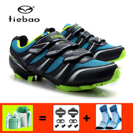 bicycles shoes NZ - TIEBAO mountain bike shoes sapatilha ciclismo mtb men outdoor self-locking breathable cycling sneakers bicycle riding shoes