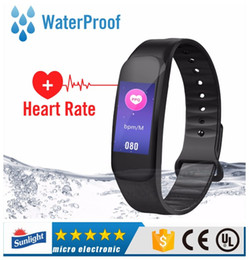 $enCountryForm.capitalKeyWord NZ - C1 Plus Smart Band Bracelet with Blood Pressure Oxygen Heart Rate Monitor Waterproof Smart Wristband for IOS Android Phone