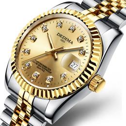 $enCountryForm.capitalKeyWord Australia - KINGNUOS Fashion couple steel belt watch models waterproof high-end gold watch Lovers men And women calendar Wristwatches