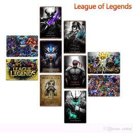 league legends art 2019 - 20*30cm League of Legends Metal Tin Signs Vintage Posters Metal Plaque Club Wall Home art metal Painting Wall Decor Art