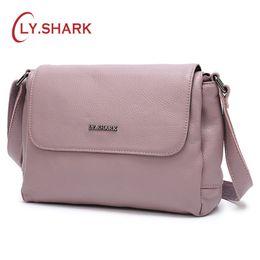 $enCountryForm.capitalKeyWord Australia - Cheap Shoulder LY.SHARK For Women 2019 Shoulder Bag Female Ladies' Genuine Leather Crossbody Bags For Women Messenger Bags