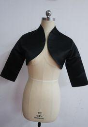 $enCountryForm.capitalKeyWord NZ - High end customization Hot Jacket Women black wedding Ruthshen wedding Accessories short Bolero jackets Accessories