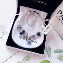 $enCountryForm.capitalKeyWord Australia - Designer Bracelet Pandora Bracelet Silver Bracelet Diamond Gemstone Decoration Pandora 2019 Luxury Fashion Accessories 925 sterling silver