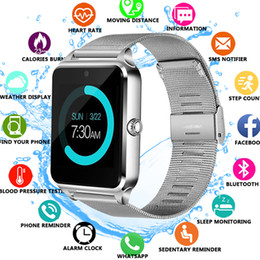 smart watches phones apple 2019 - Smart Watch Z60 GT09 Men Women Bluetooth Wrist Smartwatch Support SIM TF Card Wristwatch For Apple Android Phone PK DZ09