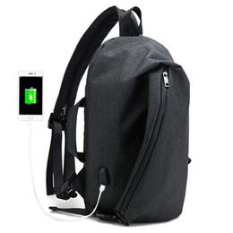 $enCountryForm.capitalKeyWord UK - Vintage Casual laptop backpack USB Charge shoulder backpack Bag for men school anti theft Backpack women