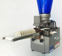 Freies Verschiffen 220v 110v Kleine Desktop halbautomatische Knödel Maschine für Restaurants Frying Knödel Maschine Gyoza Maschine im Angebot