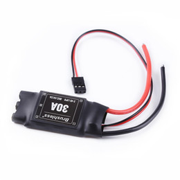 Chinese  2PCS XXD30A Brushless ESC Lipo 2-4S BEC 5V 2A Electronic Speed Controller for FPV Multicopter fix-wing helicopter manufacturers