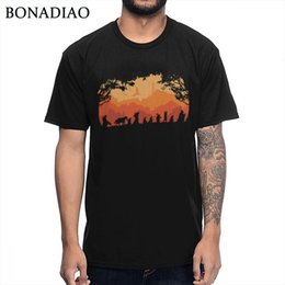 Lord rings print online shopping - Men s Quality The Lord of the Rings T Shirt Casual Cotton Tee Shirt