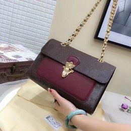Vente en gros Ventes nouvelles femmes chaîne Simple sac à bandoulière portefeuille mode sacs à main de marque Designer sacs femmes Haute qualité Incliné sac à bandoulière BG9503