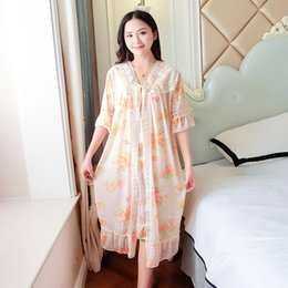 ad940a08b 2pcs Sets Nightdress + Night Gown Sexy Faux Silk Sleeveless Nighties Sleepwear  Nightwear Nightshirt Couple Pajamas For Women