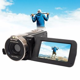 Used Hd Video Camera NZ - 2.7 Inch Rotation Screen Full HD 1080P Digital Video Camera 16X Digital Zoom 24MP Portable Home Use Camcorder
