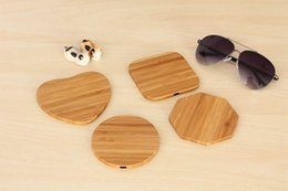 $enCountryForm.capitalKeyWord Australia - Universal Bamboo Wood Wooden Qi Wireless Charger Pad Qi Fast Charging Pads for iPhone X Samsung Galaxy S8 S9 S10 Plus