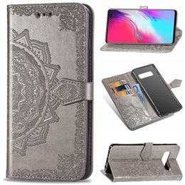 $enCountryForm.capitalKeyWord Australia - 2019 hot sale Wholesale high quality mandala embossed TPU+PU waterproof bracket mobile phone case for Samsung Note 10 10 pro s10 5G