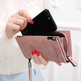 Toptan satış Kadın Cüzdan Moda Lady Bileklik Çanta Uzun Para Çanta Fermuar Sikke çanta Kartları KIMLIK Tutucu Debriyaj Kadın Cüzdan Burse Notecase