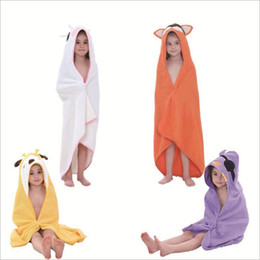$enCountryForm.capitalKeyWord Australia - animal design kids beach towel solid colors bothrobe boy girl swiming pool cape towels cute homewear