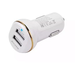 $enCountryForm.capitalKeyWord UK - 3.1A Car Charger Quick Charger Dual USB Ports Car charger Adapter Chargers for iphone 7 8 X Samsung s7 s8 Android phone gps mp3