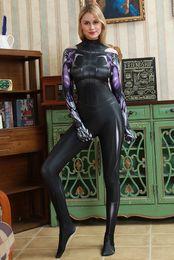 Carnival Suits Kids Australia - Alita Battle Angel Costume Cosplay Zentai Suit Superhero Costume