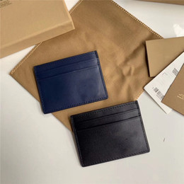 $enCountryForm.capitalKeyWord Australia - High-quality water ripple black Calf hide Leatherwear wallet silvery Metal Hardware Accessories Men's Business Leisure Card bag