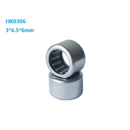 types drawings UK - 100pcs lot Free shipping 3x6.5x6mm HK0306 Drawn Cup Type Needle Roller Bearing 3*6.5*6mm