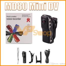 $enCountryForm.capitalKeyWord Australia - MD80 Mini DV Camcorder DVR Video Camera Webcam Support 32GB HD Cam Sports Helmet Bike Motorbike Y2000 Camera Video Audio Recorder