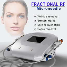 microneedle rf machine NZ - 2019 New Fractional Micro Needle Microneedle Fractional RF Machine Stretch Marks Removal Machine 25pins 49pins 81Pins