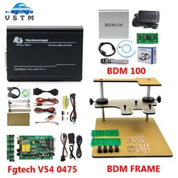 tools programmer Australia - 2020 Newest ECU Chip Tuning Tool FGTECH Galletto 4 V54 Car Truck V1255 BDM100 ECU Programmer BDM frame Testing Tool for BDM100