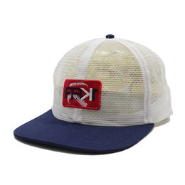 $enCountryForm.capitalKeyWord Australia - Custom full mesh caps snapback hat full mesh hat woven patch black white mesh flat brim 5 panel custom snapback trucker cap