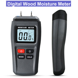 $enCountryForm.capitalKeyWord Australia - Hot sale Two Pins Digital Wood Moisture Meter 0-99.9% Wood Humidity Tester Timber Damp Detector with Large LCD Display free shipping