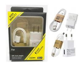 $enCountryForm.capitalKeyWord Australia - 2 in 1 Charger kits Cell Phone Chargers 5V 2A Wall Charger Adapter +1M 3FT Micro USB Data Sync Charging Cable For Samsung S4 S5 S6 S7 htc