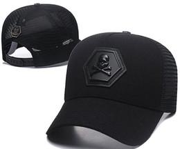 China Newest Designer PP Skull Caps Casquettes De Baseball Cap Gorras Fashion Brand Baseball Hats Races Headwear Giants Bone Sun Hat Luxury Sunhat supplier ball caps skulls suppliers