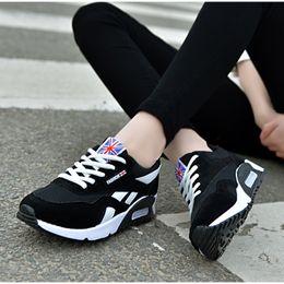 $enCountryForm.capitalKeyWord Australia - Women Air Mesh Sneakers 2019 New Shoes Ladies Comfortable Flats Lace Up Autumn Casual Breathable Vulcanize Shoe Female Fashion MX190819