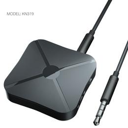 Neue arrivw KN319 2 IN 1 Bluetooth Sender Empfänger 3,5mm Wireless Adapter Bluetooth 4,2 Stereo Audio Dongle Für TV Auto / Home Lautsprecher im Angebot