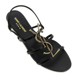$enCountryForm.capitalKeyWord NZ - Factory for sale Brand new Sexy shoes Woman Summer Buckle Strap bamboo joint Sandals ysl Flat shoes Pointed toe Fashion Shoes In Stock