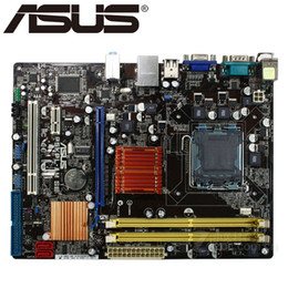 Chinese  Asus P5KPL-AM SE Desktop Motherboard G31 Socket LGA For 775 Core Pentium Celeron DDR2 4G u ATX UEFI BIOS Original Used Mainboard manufacturers