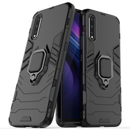 $enCountryForm.capitalKeyWord Australia - For Vivo iQoo Neo Case Cover Hard Hybrid Armor Soft Silicone Edge Matte Finished Anti Fingerprint with Kick Stand Foldable