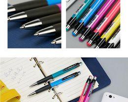 $enCountryForm.capitalKeyWord Australia - 12pcs lot Classic Press Office Pen Student Ball Pen Blue Refill Press-type Creative ballpoint pens Office Stationery Supplies DHL SHIPPING