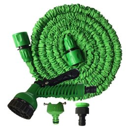 $enCountryForm.capitalKeyWord Australia - 2019 Expandable Garden Hose Flexible Garden Water Hose 50FT for Car Hose Pipe Watering Irrigation With Spray Gun 15M with retail package