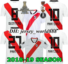 Discount river plate jerseys - Top quality 18 19 RIVER PLATE Home jersey soccer MARTÍNEZ D,ALESSANDRO BALANTA CAVENAGHI SCOCCO SOSA 2018 River Plate AW