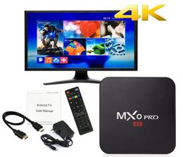 Discount metal android tv box MXQ Pro 4k RK3229 Quad Core Android 7.1 4K Smart TV BOX Smart TV BOX abonnement iptv subscription