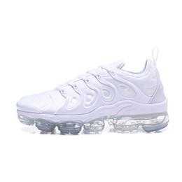 2e72d9a28ef30 Nike air vapormax tn de diseñador para mujer TN Plus TRIPLE NEGRO Zapatillas  de deporte blancas Calzado casual Para zapatillas de deporte de diseño  Deportes ...