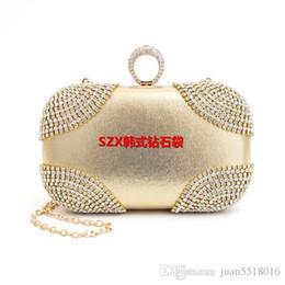 $enCountryForm.capitalKeyWord NZ - Pop Vogue Finger Rings Diamonds Clutch Purse Evening Bags Mixed Color Rhinestones Evening Bag Small Handbags tote wallets