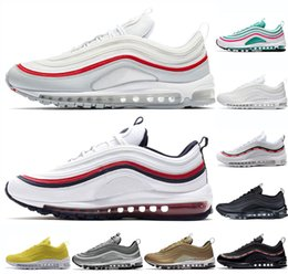 97 running shoes for men women White Red RED CRUSH OG Sliver Bullet South  Beach mens trainers Jogging Walking Outdoor shoe sports sneakers 57594bf97