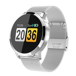 $enCountryForm.capitalKeyWord Australia - Q8 Smart Watch OLED Color Screen Smartwatch women Fashion Fitness Tracker Heart Rate monitor with real packeting