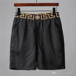 Wholesale New beach shorts summer men s shorts trendy popular logo suit swimsuit men s beach pants swim board pants
