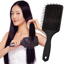 Hair Healthy Australia - Professional Healthy Paddle Cushion Hair Loss Massage Brush Hairbrush Comb Scalp Hair Care